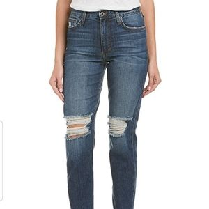 Joe's The Debbie High-Rise Straight Ankle Jeans